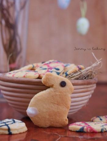 einfache Schmandplätzchen zu Ostern