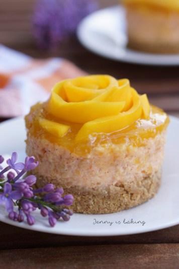 mango mini cakes