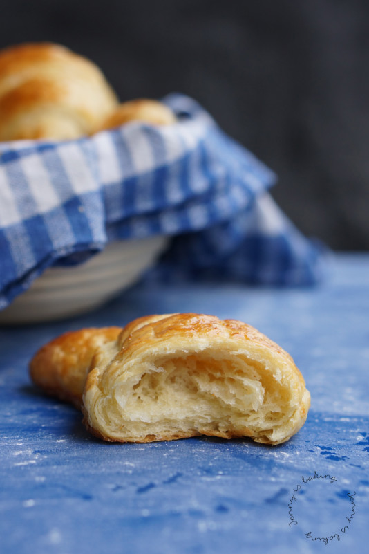 Die besten selbstgemachten Croissants