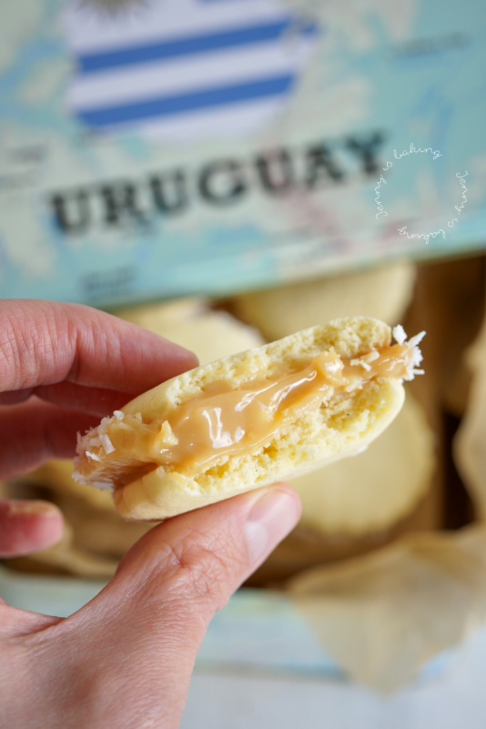 Klassische Alfajores aus Uruguay