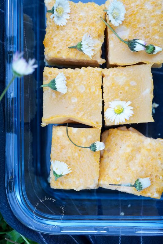 Schneller Gänseblümchen-Kuchen