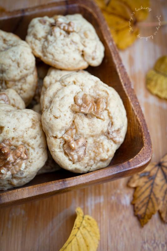 Ahorn-Walnuss-Cookies