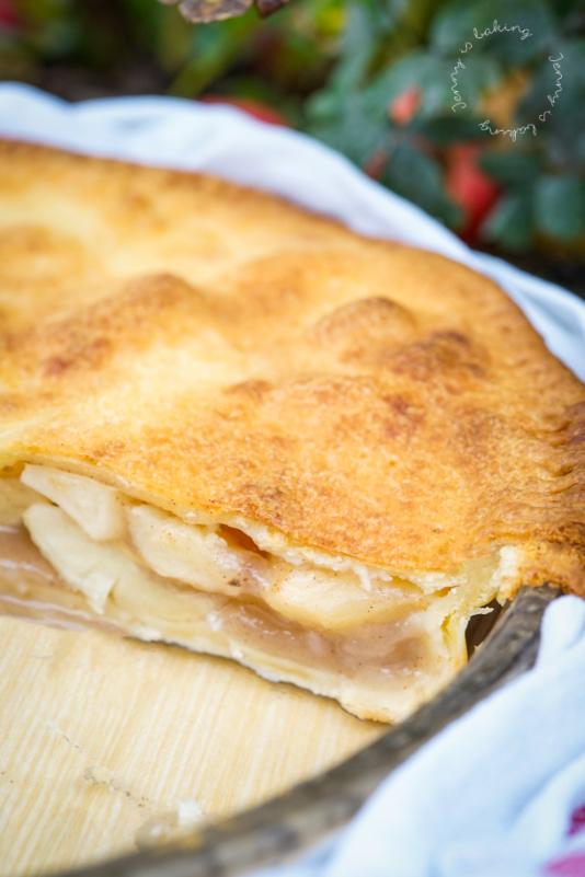 Apple Pie mit Frischkäse-Mürbeteig