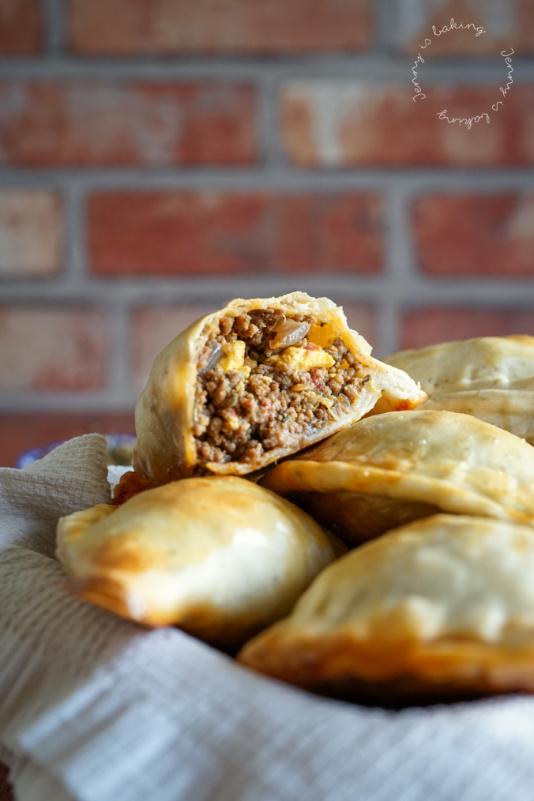 Traditionelle uruguayische Empanadas - Jenny is baking