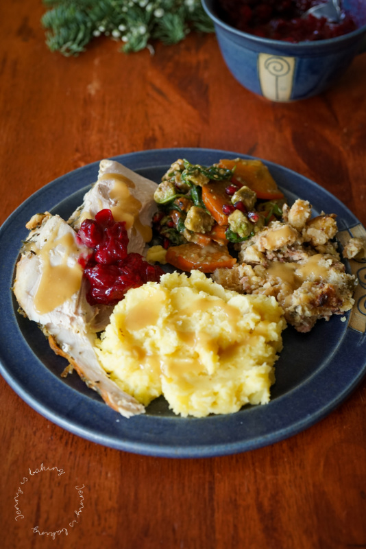 Traditionelles Thanksgiving-Essen