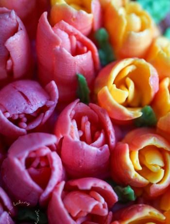 Tulpen aus Buttercreme