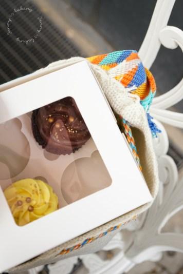 Cupcakes to go vom Café Wir machen Cupcakes