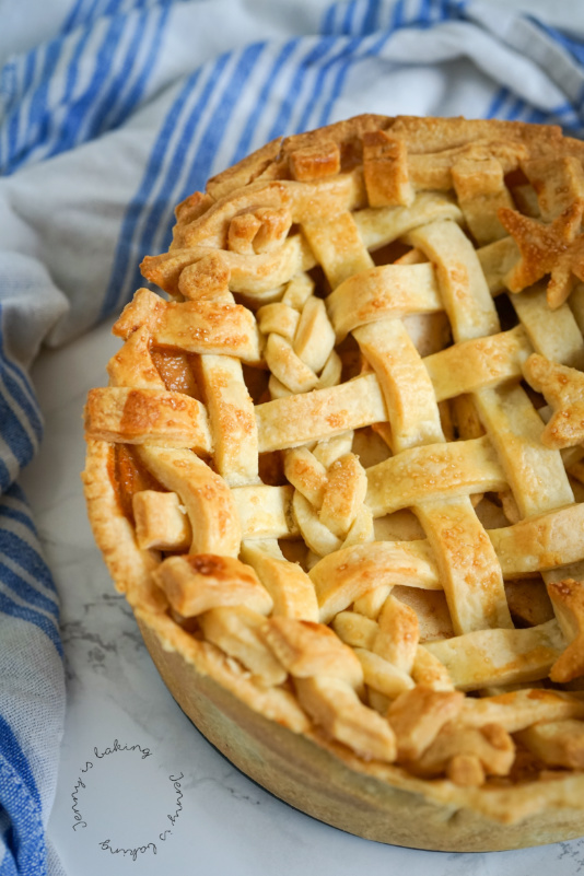 Apple Pie mit Karamell