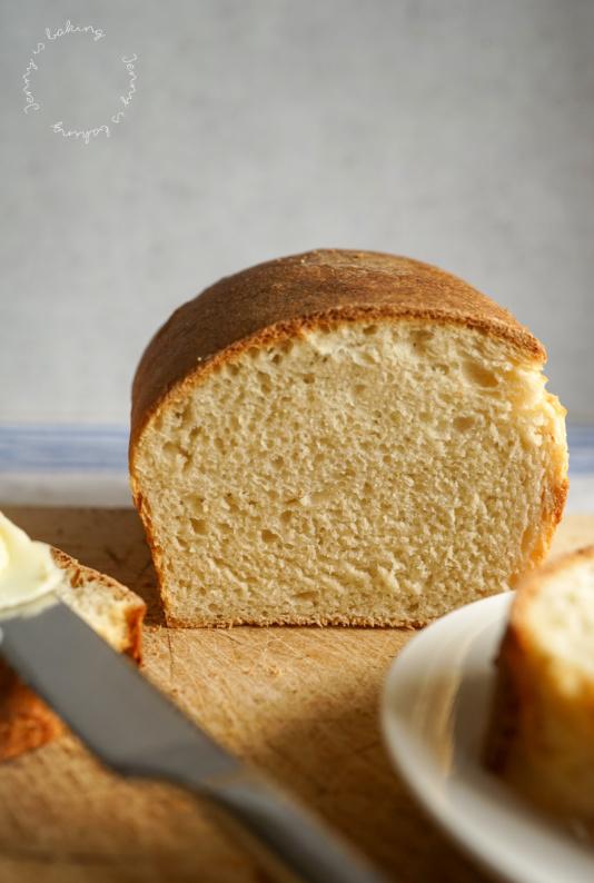 Toastbrot mit Buttermilch