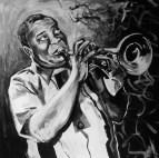 Louis Armstrong Portrait