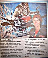 New Zealand Newspaper article