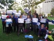 Primary School art workshop in London