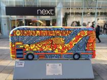 TFL Wild in Art bus sculpture