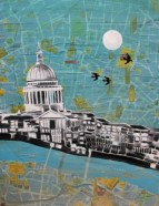 London Painting Jenny Leonard 32 x 42cm