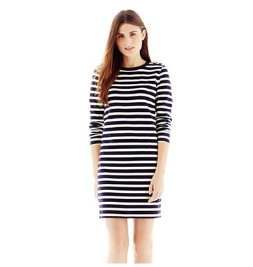 joe fresh striped dress