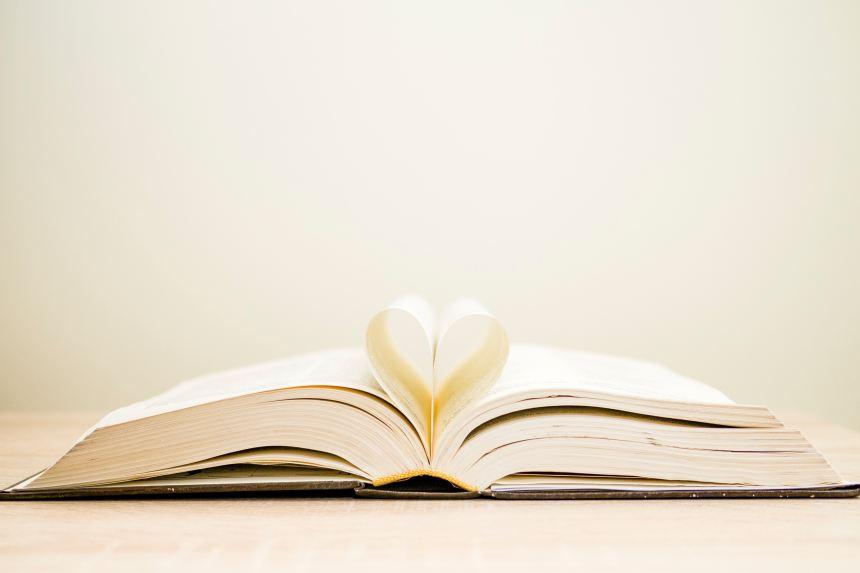 book heart page micahl grosicki