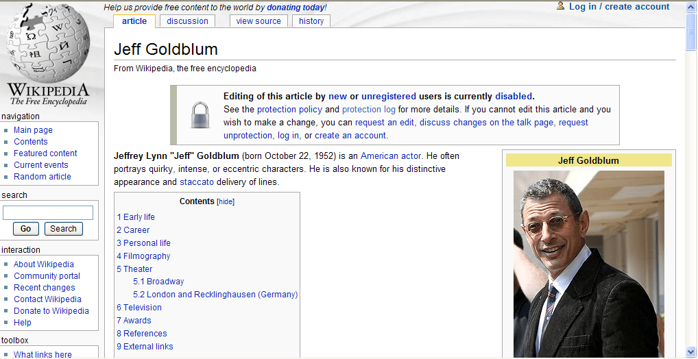 Jeff_Goldblum_Wikipedia_page_-jsut_after_media_reports