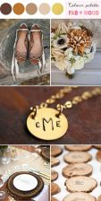 Brown Wedding Board