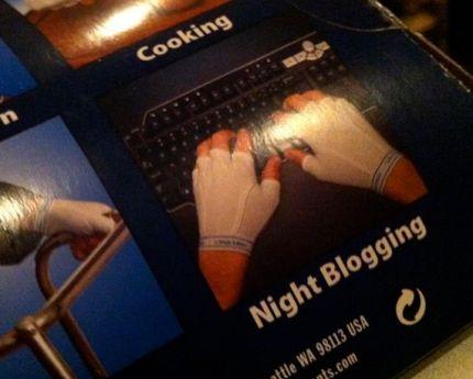 Look mom! I'm night blogging!