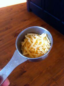 1/2 ounce cheese