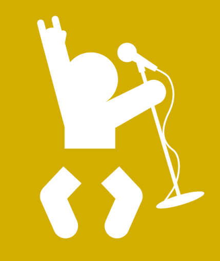 Poulsbopalooza-themed Facebook profile avatar