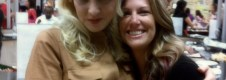 Wendi McLendon-Covey and I sit for a spell