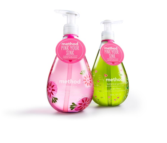 Pink Your Sink pair of handwashed by Method via @jennyonthespot