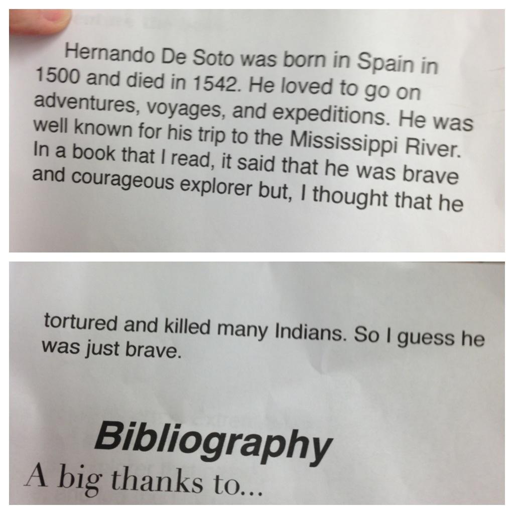 A little insight about Hernando de Soto via @jennyonthespot