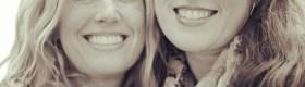 Spittibee, flat Rachel and me