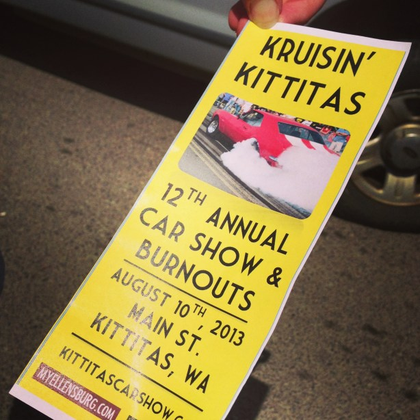 Kruisin' ittitas Car Show and Burnouts