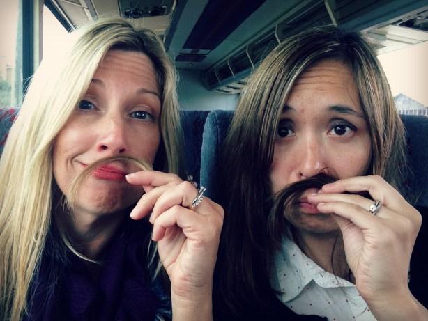 Click Retreat mustaches