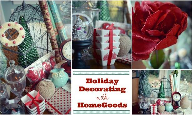 HomeGoods holiday decor haul