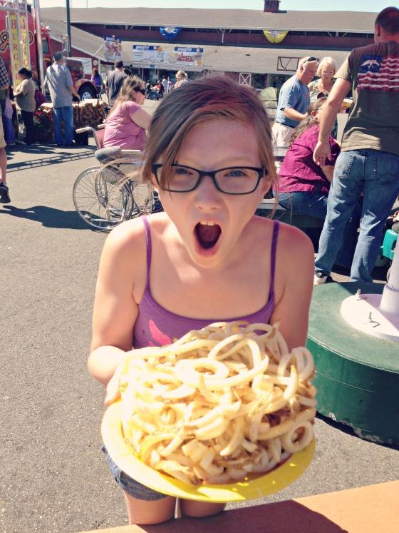 food at the Washington State Fair