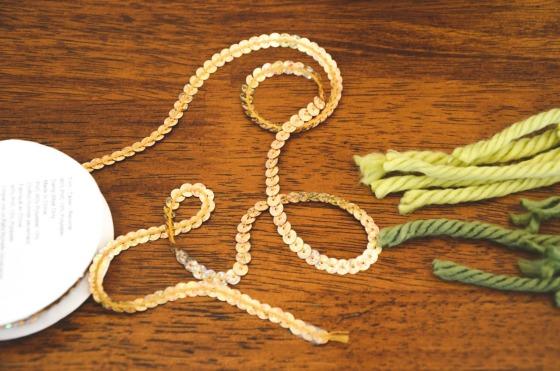 sequin ribbon