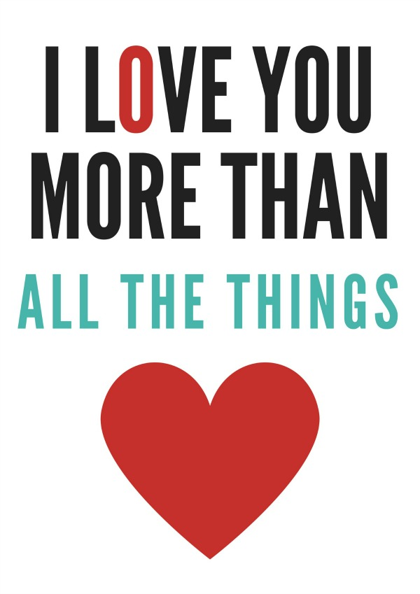 All The Things free printable via @jennyonthespot