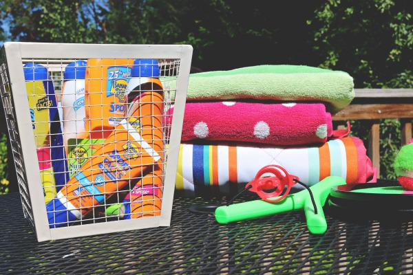 Make It the Best Summer Ever with a sun protection basket