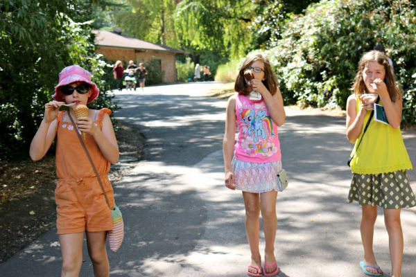 Ice cream - A visit to the Woodland Park Zoo