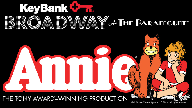 Annie at The Paramount Theatre in Seattle