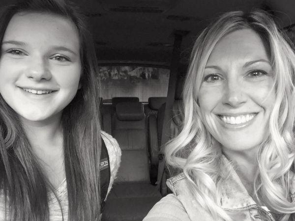 Teen girl and Mom