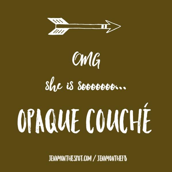 Pantone Ugliest Color - Pantone 448 C - Opaque Couché via @jennyonthespot