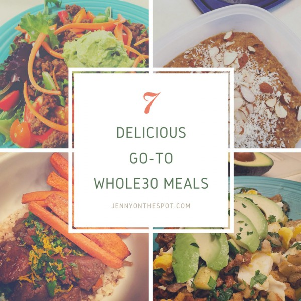 7 Whole30 Meals via @jennyonthespot