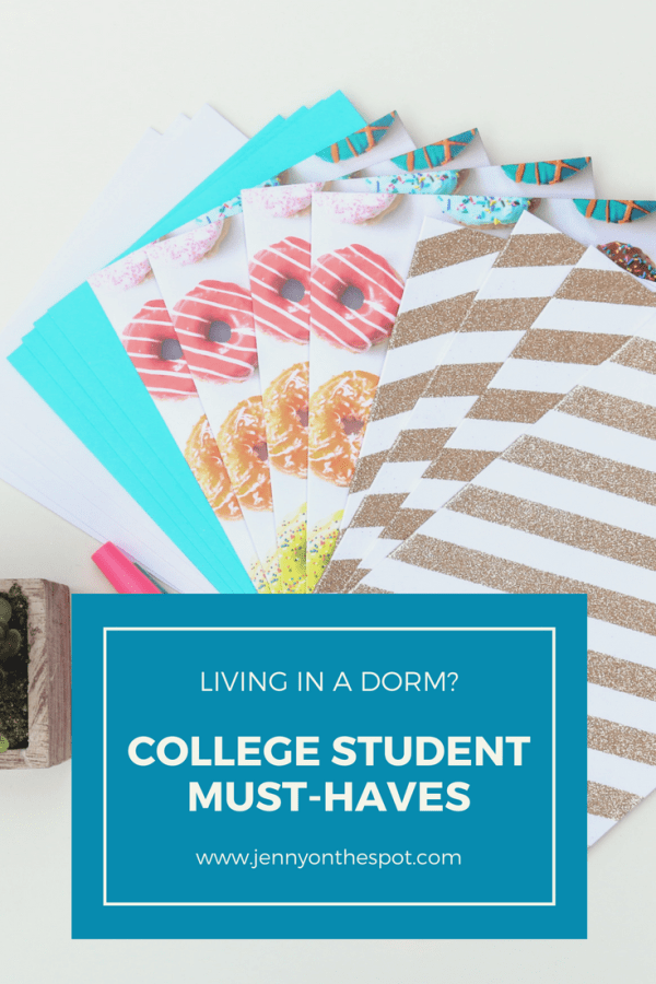 College Student Must Haves for living in dorms3