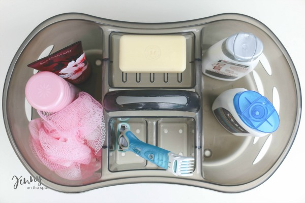 13 College Student Must-Haves - The Dorm Edition - shower caddy via @jennyonthespot