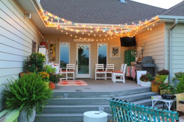 10 Beautiful Backyard Escape Ideas - delightful porch decor