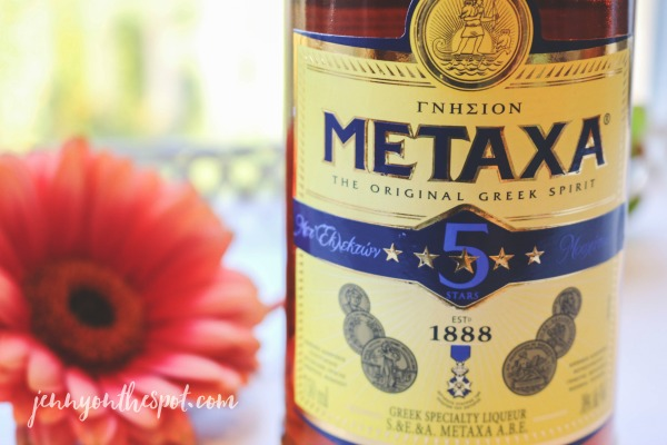 Metaxa via @jennyonthespot