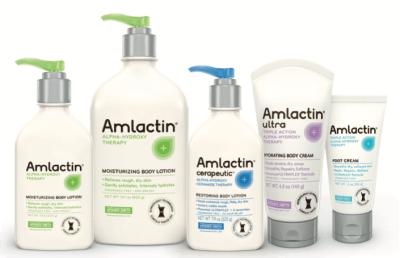 AmLactin Skin Care Product Line