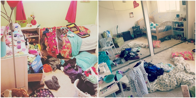 Teen and tween bedrooms... Never Have I Ever: Life's Unexpected Messes #CLXNeverHaveIEver