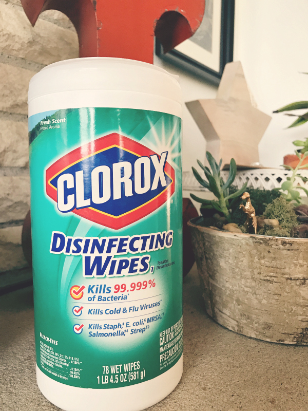 Clorox Disinfecting Wipes | Season Of Clean | jennyonthespot.com