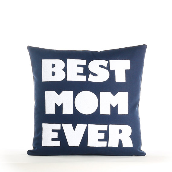 Best Mom Ever Pillow for Mother's Day | Etsy