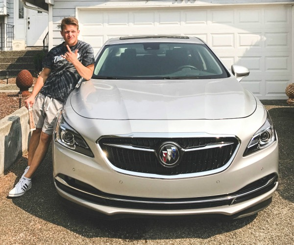 Buick Lacrosse equipped with Teen Driver Technology